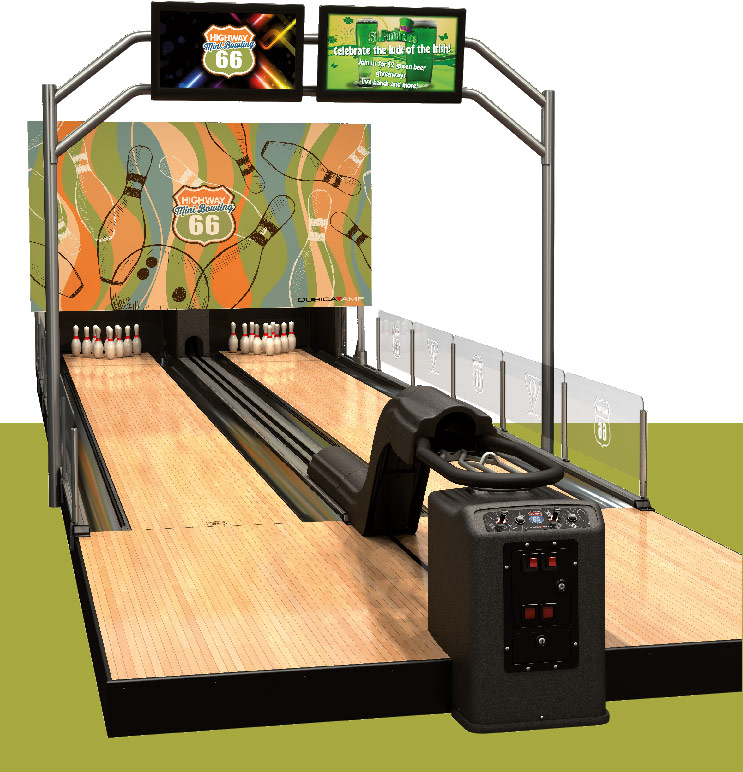 Suitespot Configuration Features Amusement Qubicaamf Mini Bowling Equipment
